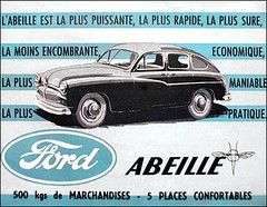 ford vedette abeille 1953 the ford abeille french for be flickr. Black Bedroom Furniture Sets. Home Design Ideas