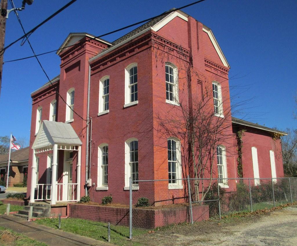 Alabama wilcox county camden -  Old Wilcox County Jail Camden Alabama By Courthouselover