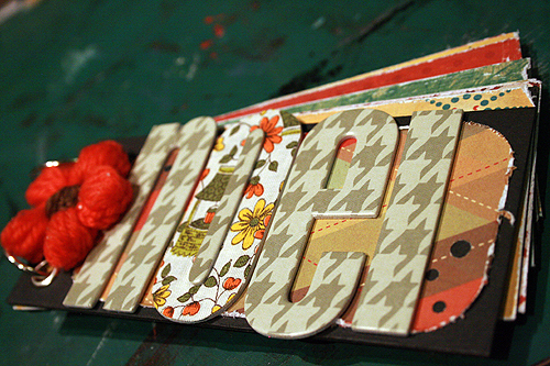 Noel mini album pour Scrapoulette | by thegreenfrogstudio