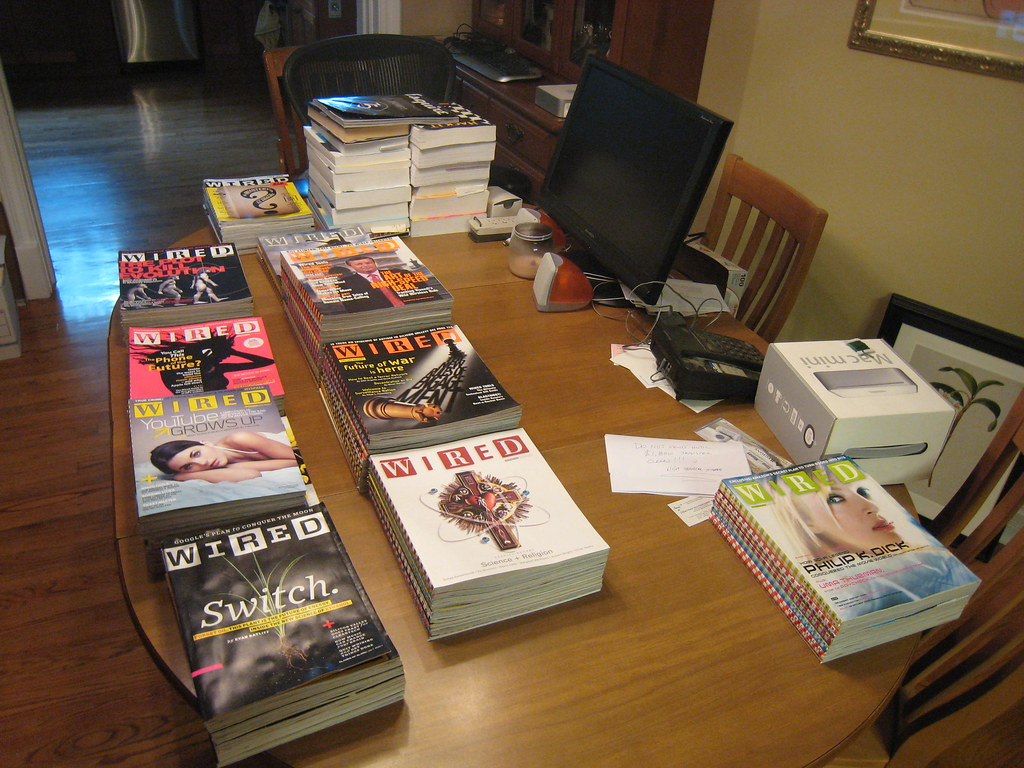 Wired Magazine collection for sale (100 issues from Sept 1… | Flickr