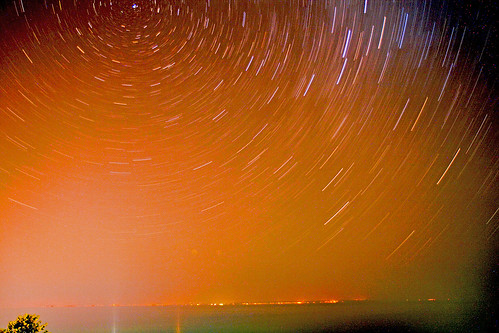 Spin that world - startrails | by Russ Clark