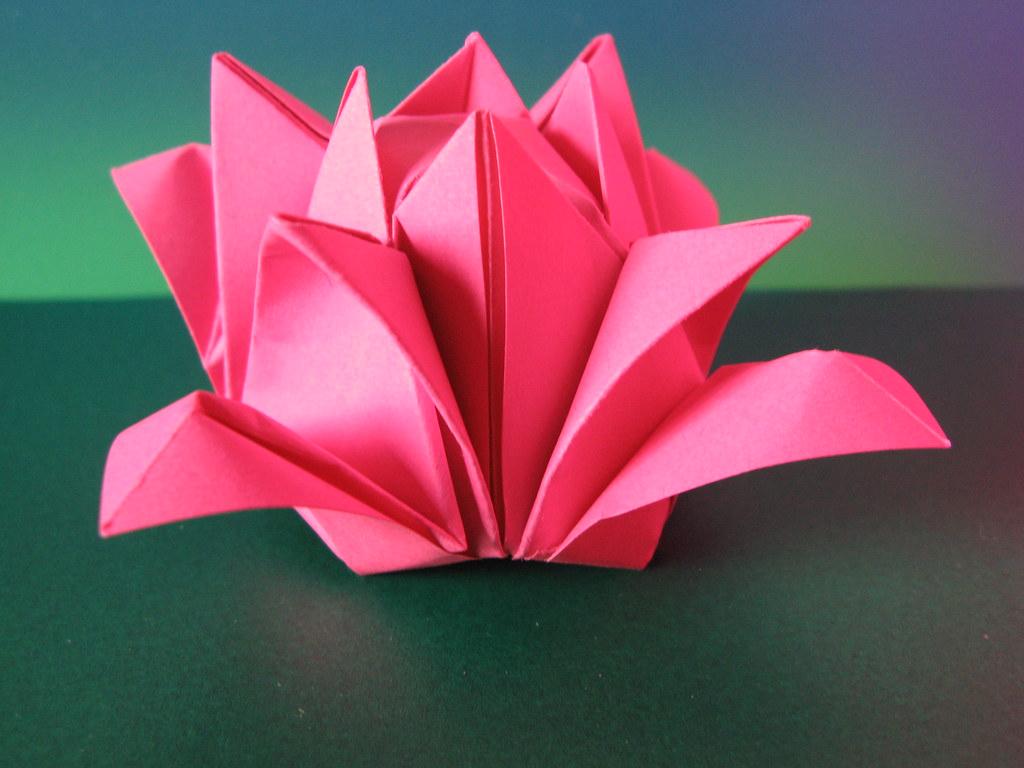 3d Origami Flowers Choice Image - Flower Decoration Design | 768x1024