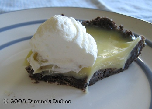 You Want Pies With That?: Gone With the Wind Pie: Half Way In | by Dianne's Dishes