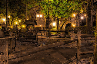 Disney - Splash Mountain Queue at Night | by Express Monorail