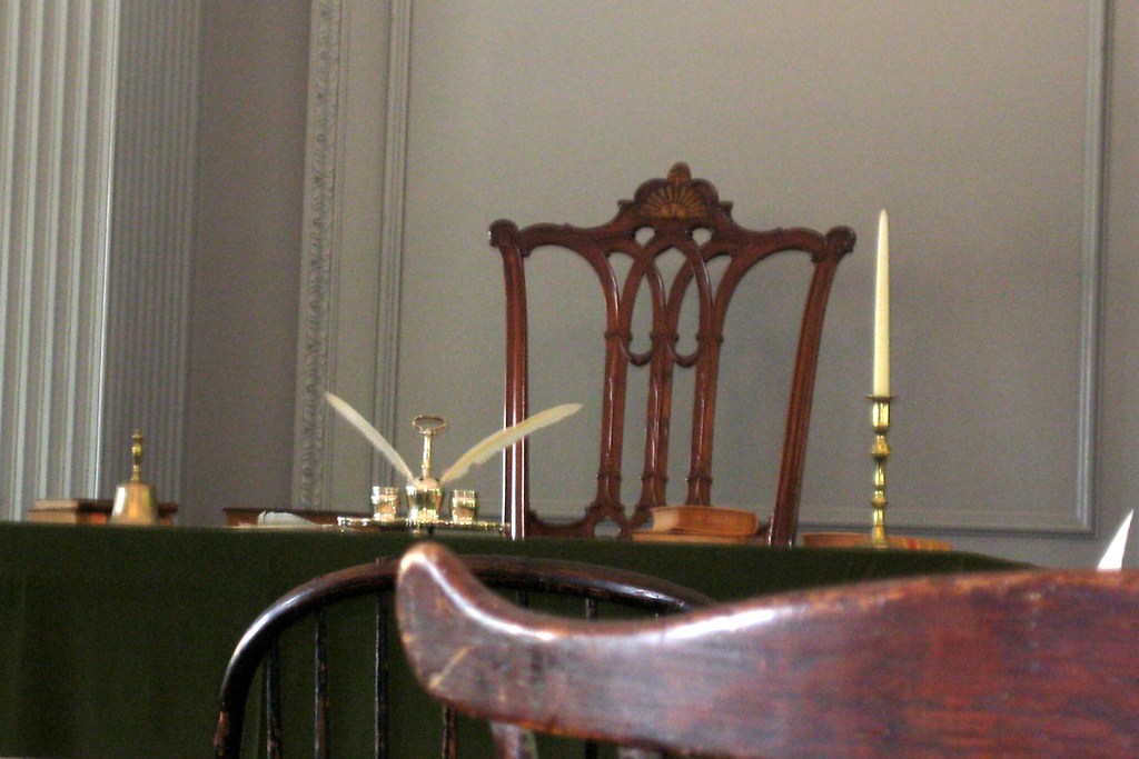 Wonderful ... Philadelphia   Old City: Independence Hall   Assembly Room   Rising Sun  Chair | By