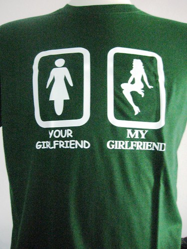 Funny T-shirt - Your Girlfriend   Funny and Crazy T-shirts a…   Flickr