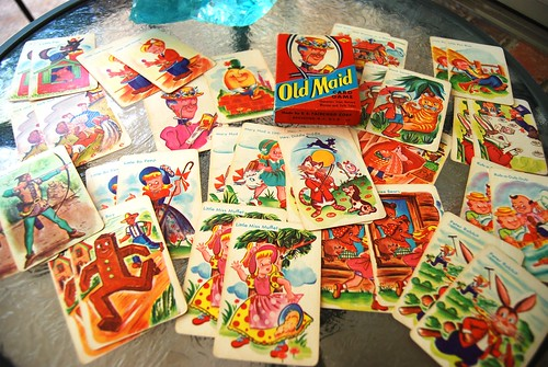 50's Old Maid Cards | by mojavegirl