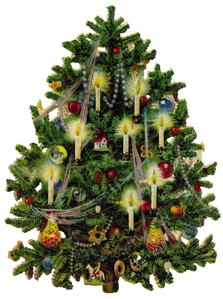 old fashioned christmas tree by dorkusmaximus