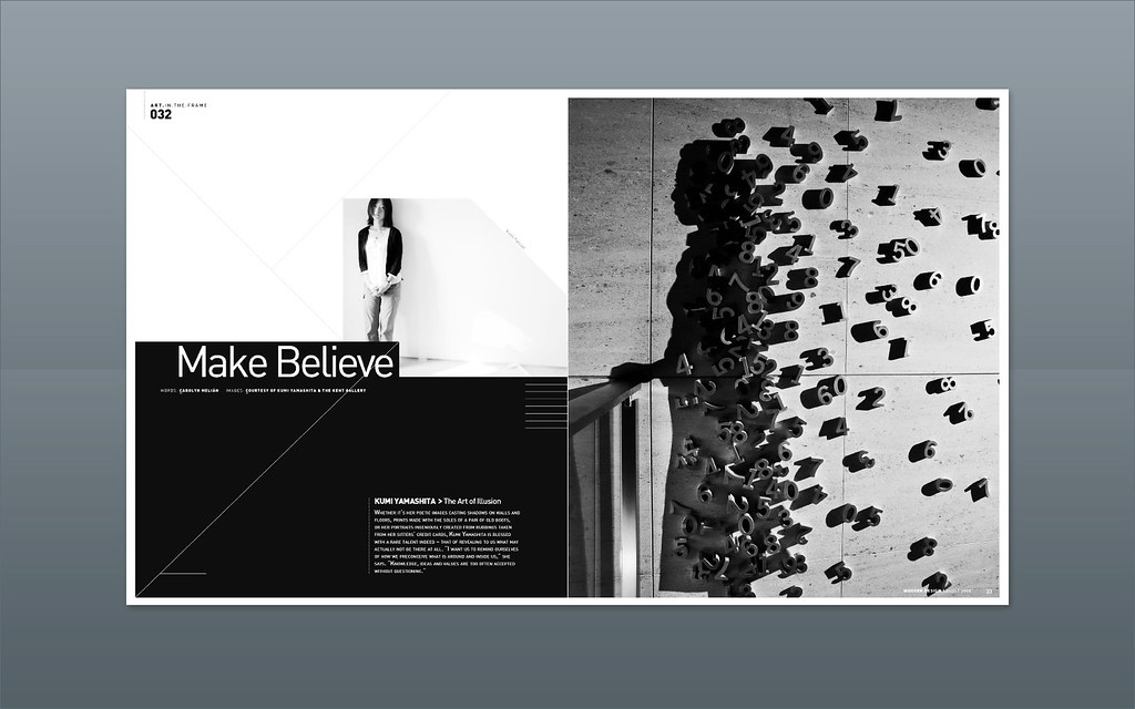 Modern Design Magazine ::: Kumi Yamashita, The Art of Shad… | Flickr