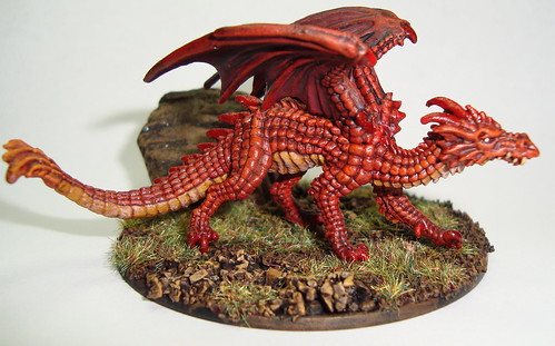 Reaper's Young Fire Dragon | REF8010 | Flickr