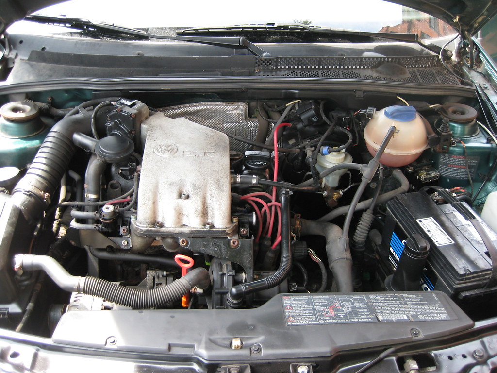 1997 Vw Jetta Gl 2 0 Liter 5 Speed Engine Compartment Flickr