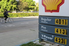Cyclist and the price of gas | by Richard Masoner / Cyclelicious