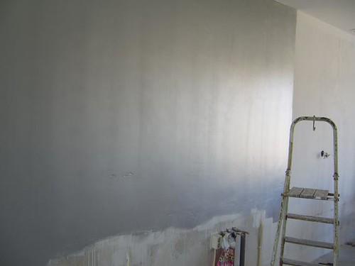 Zilveren muur huisje aan de haven flickr for Huisjes voor aan de muur