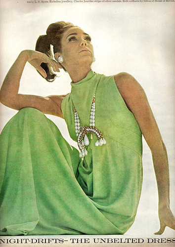 Marisa Berenson - US Vogue February 15, 1966 | by ilookatyouwithfeelings