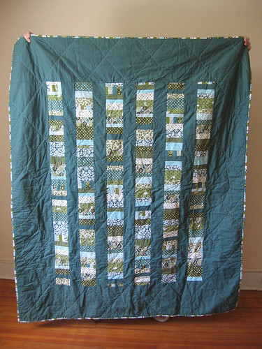 Stacked coins quilt top | by CreativeReveries