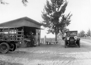 Knott's original berry stand, Buena Park, circa 1926 | by Orange County Archives