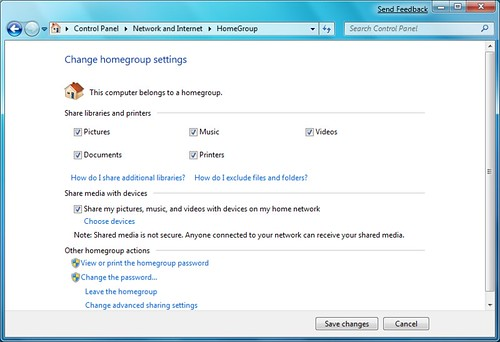 how to delete a homegroup windows 7