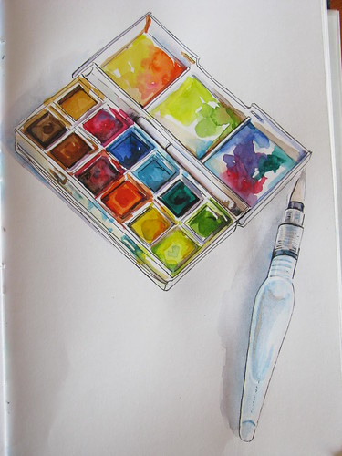 watercolour kit | by SinaiDreamer