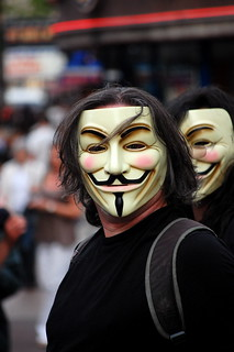 Anonymous Anti-Scientology Protest | by Cristiano Betta