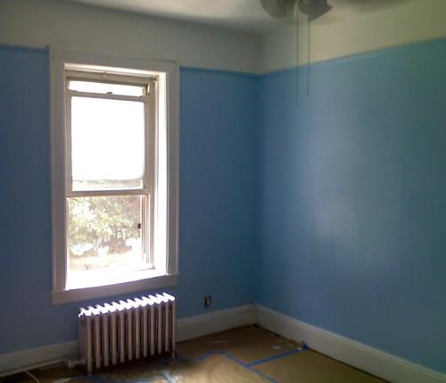 blueroom   Jake's room- Benjamin Moore Eco-Spec blue
