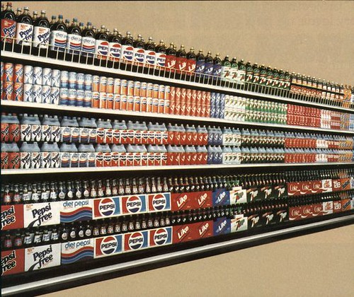 Soda Display From The Year 1984