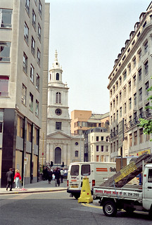 Houndsditch and St Botolph-without-Bishopsgate Church | by SONICA Photography