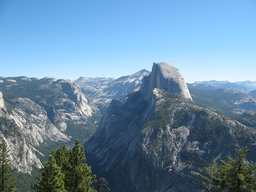 Half Dome from Glacier Point | by One Man Walking