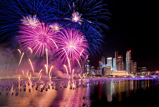 Singapore New Year 2009 Fireworks | by Souvik_Prometure