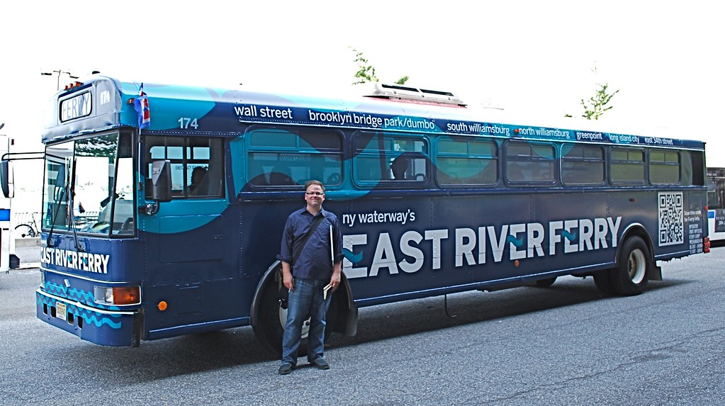 East River Ferry bus graphics  | McMillianCo | Flickr