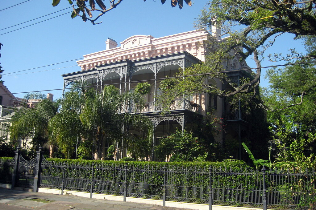 Exceptional ... New Orleans   Garden District: Carroll Crawford House | By Wallyg