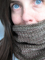 Grey cowl | by coco knits