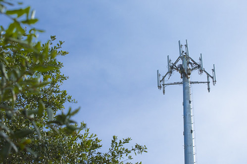 Man on Cellular Tower! | by TheBusyBrain