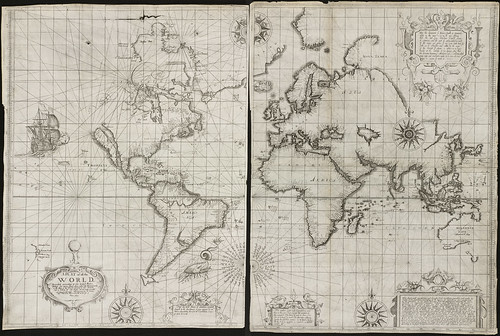 A plat of all the world | by Norman B. Leventhal Map Center at the BPL