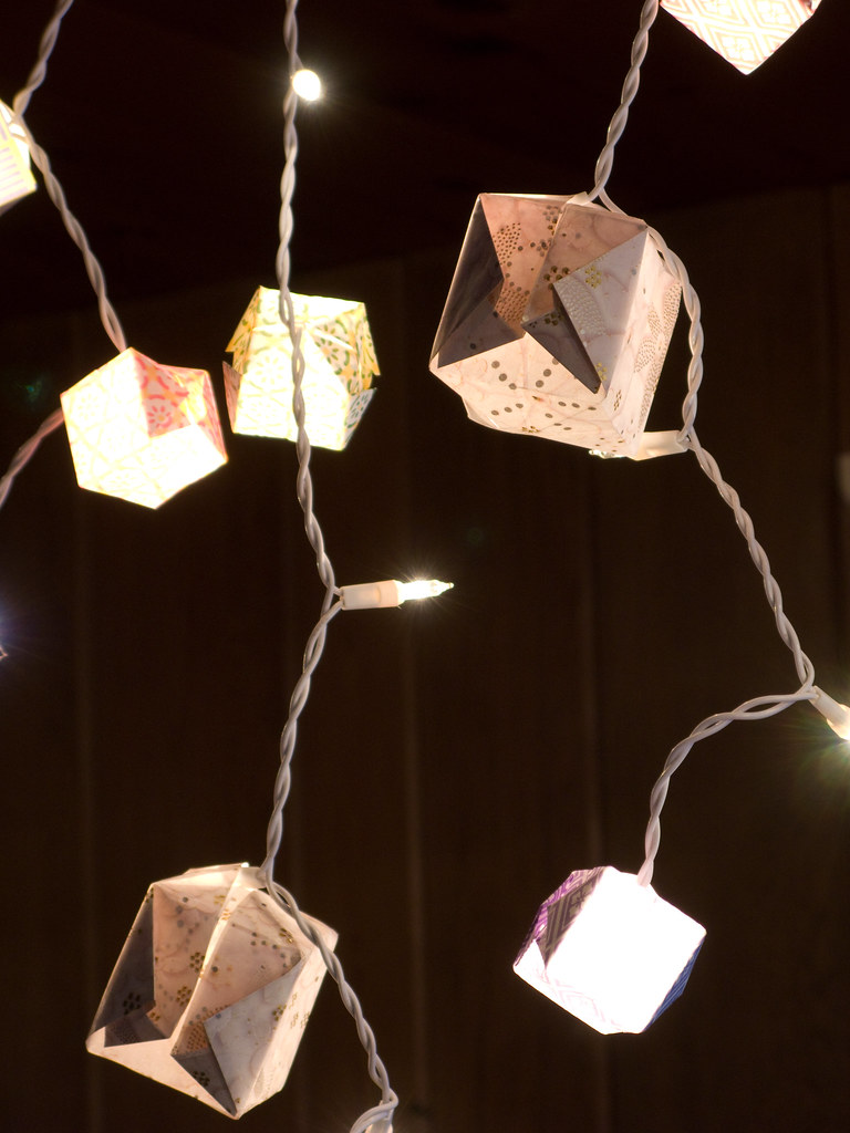 Origami Lights Iii As The Inaugural Project For Our Newly Flickr