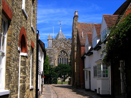 The view from the front door of  Henry James' Lamb House, Rye | by UGArdener