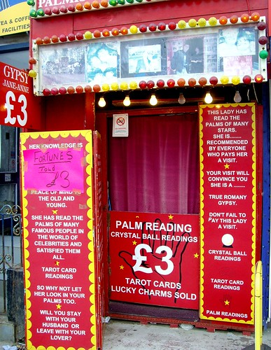 Blackpool fortune teller | by Tony Worrall
