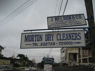 Morton Dry Cleaners in Accra | by Wayan Vota