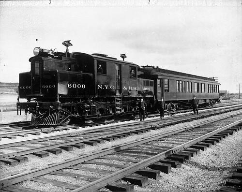 Electric Locomotive New York Central And Hudson River Rai
