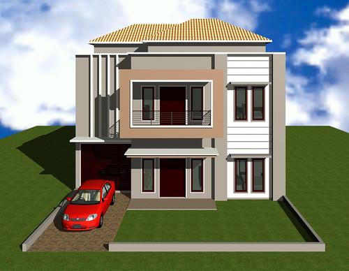rumah murah sebuah rumah murah bergaya minimalis modern