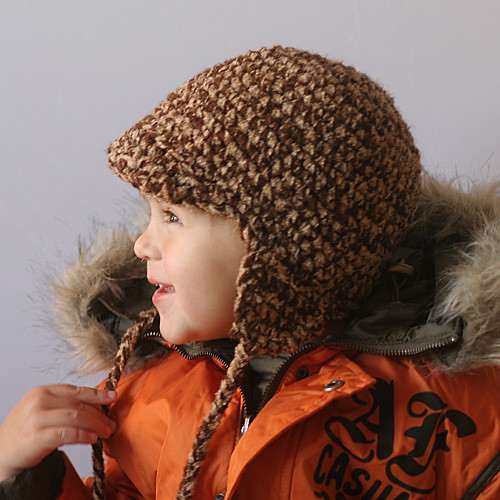 Leila Ben Earflap Hat Crochet Pattern Check Our Profile Flickr