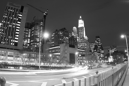 On ramp to Brooklyn Bridge | by hillcrestphoto.com