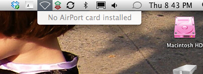"""""""No AirPort card installed"""" lying error message (Apple, OS ..."""