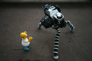 Homer gets attacked by three legged camera monster thing 353/365 | by harry.1967