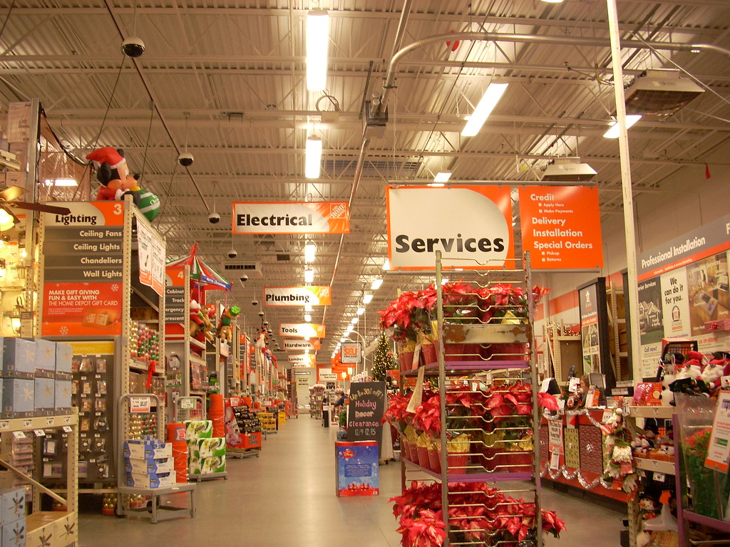 Home Depot interior | Home Depot #4650 (104,911 square feet)… | Flickr