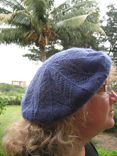 Puffs beret: side view | by bunnieprops
