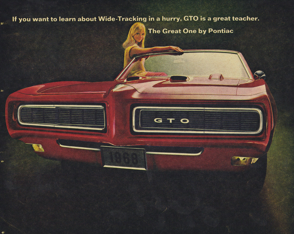 1968 Pontiac Gto Convertible Coconv Flickr