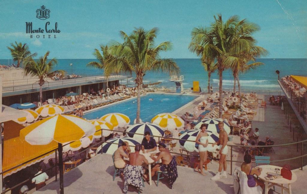 Monte Carlo Resort Hotel - Miami Beach, Florida