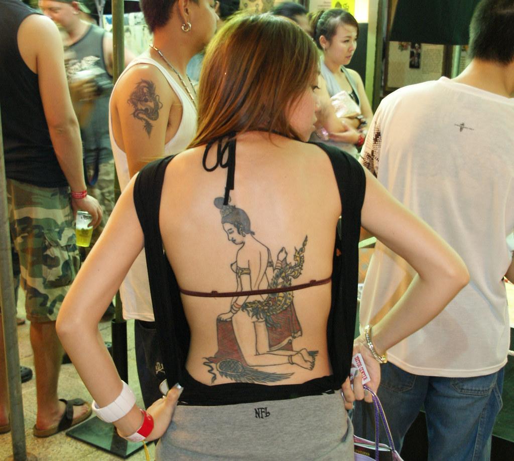 Tattoo Arts Festival In Pattaya Thailand By Binder Donedat