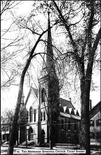 Methodist Episcopal Church, Court Street, Keene NH | by Keene and Cheshire County (NH) Historical Photos