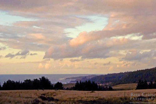 Evening View from Navarro Ridge, Albion - Mendocino County | by Rita Crane Photography